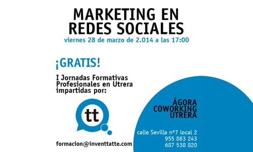 Marketing en Redes Sociales – Ágora Coworking Utrera