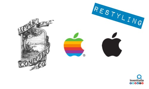 Restyling Logo Apple