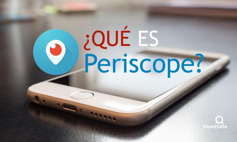 ¿En qué consiste la red social Periscope?