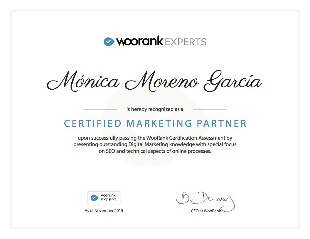 Woorank Experts - Posicionamiento Web - SEO - Utrera (Sevilla)