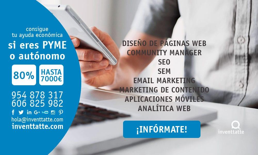TIC cámaras Marketing Online Sevilla inventtatte