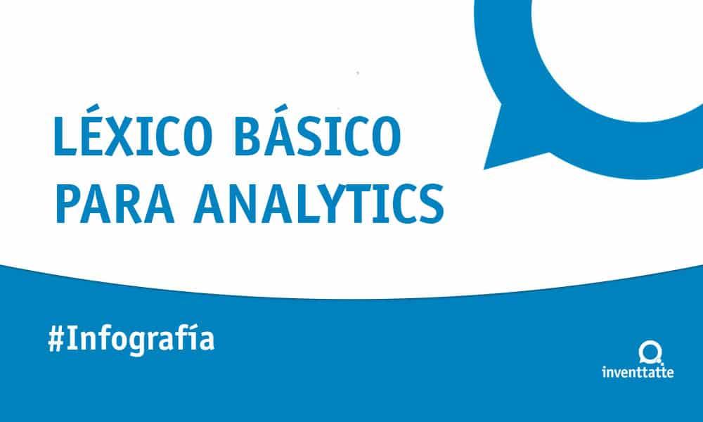 Infografía: Léxico básico para Google Analytics
