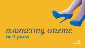 Pon en marcha tu estrategia de Marketing Online en 4 pasos