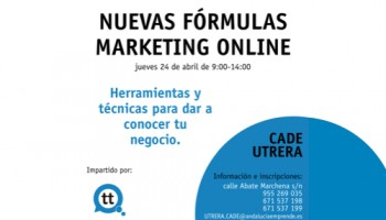 Nuevas Fórmulas de Marketing Online - CADE de Utrera